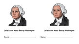 Let's Learn About George Washington Interactive Reader