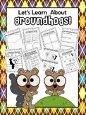 Let's Learn About Groundhogs! Common Core aligned activities