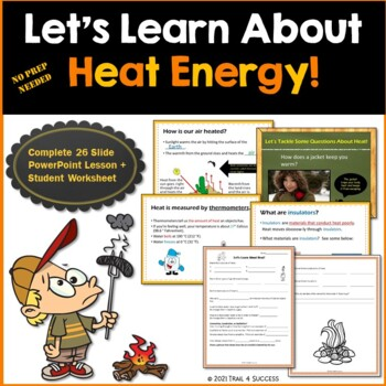 Worksheet Light Energy Worksheets For Kids heat energy powerpoint lesson student worksheet printable by printable