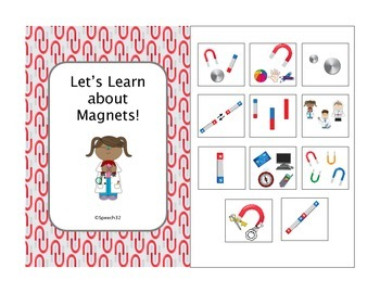 Let's Learn About Magnets Interactive Book