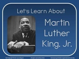 Martin Luther King Jr. PowerPoint Lesson for Martin Luther King Day Grades 1 2 3