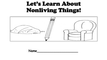 Nonliving Things Printable Book