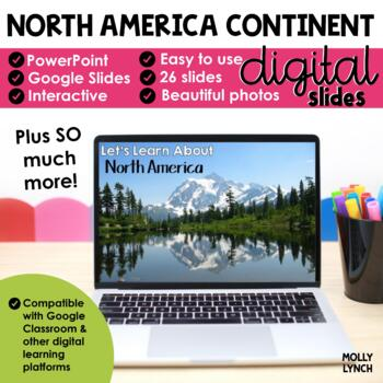 North America Continent Study through PowerPoint