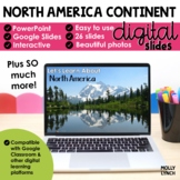 Distance Learning North America Continent Study through Po