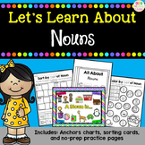Let's Learn About - Nouns