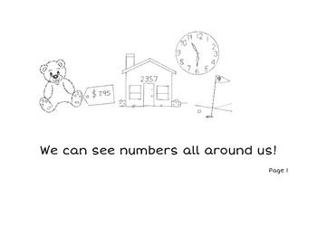 Let's Learn About Numbers 1-5 Printable Book
