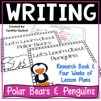 Beginning Research Project on Polar Bears and Penguins