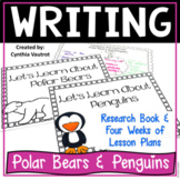 Beginning Research for Polar Bears and Penguins Activities