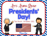 Let's Learn About Presidents' Day - Informational Text Flip Book