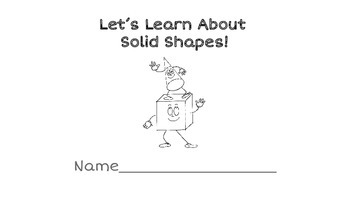 Solid Shapes Printable Book