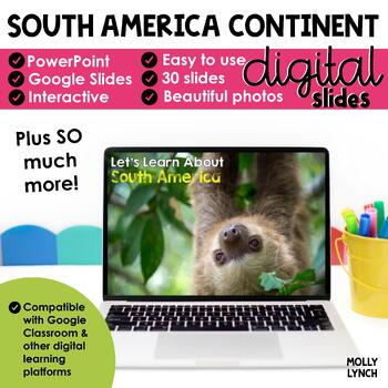 South America Continent Study through PowerPoint