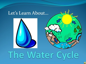 Let's Learn About The Water Cycle (Powerpoint)