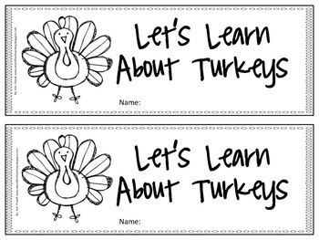 Let's Learn About Turkeys!