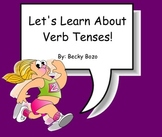 Let's Learn About Verb Tenses - Smartboard Lesson