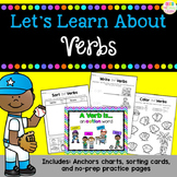 Let's Learn About - Verbs