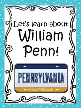 Let's Learn About William Penn!