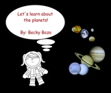 Let's Learn About the Planets Smartboard Lesson