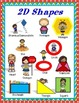 2D Shapes - Posters and Mini Book Set {Let's Learn All Abo
