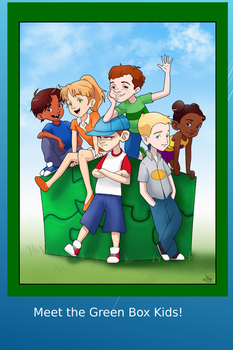 Green Box Kids Poster