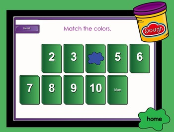Let's Learn Colors for the SMARTboard