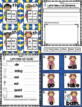 Let's Learn Digraphs with the Digraph Super Heroes! (Sh, Th, Ch, Ph, Wh)