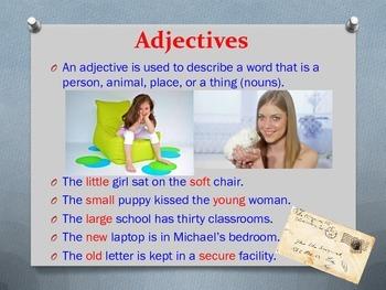 Let's Learn English! ESL Grammar Lesson (Answer Keys Included)