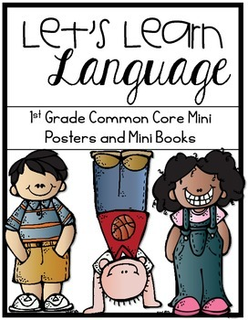 1st Grade Common Core Language