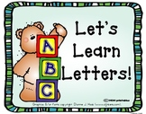 Let's Learn Letters