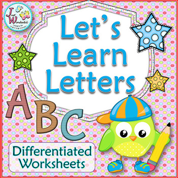Alphabet Worksheets for every letter in the alphabet