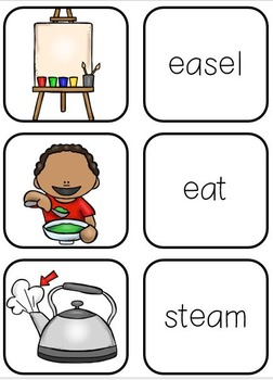 Let's Learn Long E (an ee, ea, and ey phonics unit)