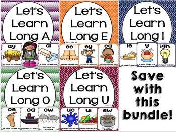 Let's Learn Long Vowels (a bundled unit)
