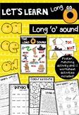 Lets Learn Long 'o' (oa, ow, oa, o-e) Activities and Word Work