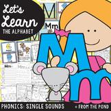 Phonics {Alphabet Letter Sound M m} Teaching Resource Packet
