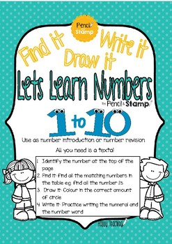 Lets Learn Numbers