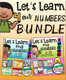 Let's Learn Our Numbers Bundle {Promethean Board Flip Charts}