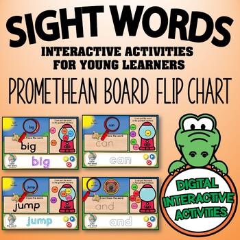 Sight Words (Pre-Primer) {Promethean Board Flip Chart}