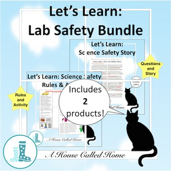 Let's Learn: Science Safety Bundle
