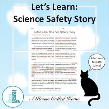 Let's Learn: Science Safety Story