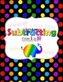 Let's Learn Subtracting: From 1 to 10 Packet