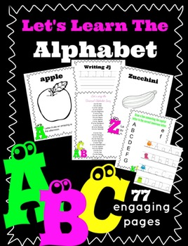 Let's Learn the Alphabet (Letters, fruits & veggies, writing)