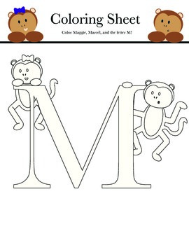 Let's Learn The Alphabet: Letter M