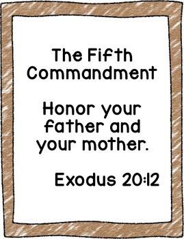 Let's Learn The Ten Commandments