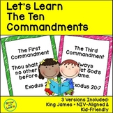 Let's Learn The Ten Commandments