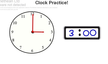 Let's Learn Time to the Hour and Half Hour