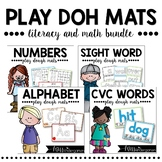 Playdough Mats {literacy & math bundle pack}
