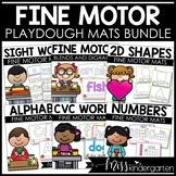 Playdough Mats / Play Dough Mats / Playdoh Mats BUNDLE