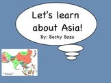 Let's Learn about Asia