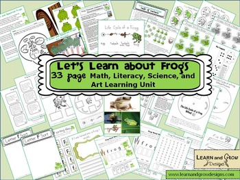 Let's Learn about Frogs Unit