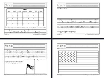 Let's Learn about Memorial Day! (Kindergarten)