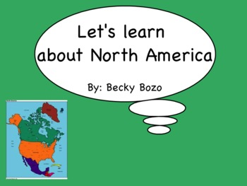 Let's Learn about North America
